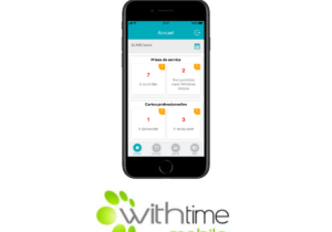 nouvelle application withtime mobile